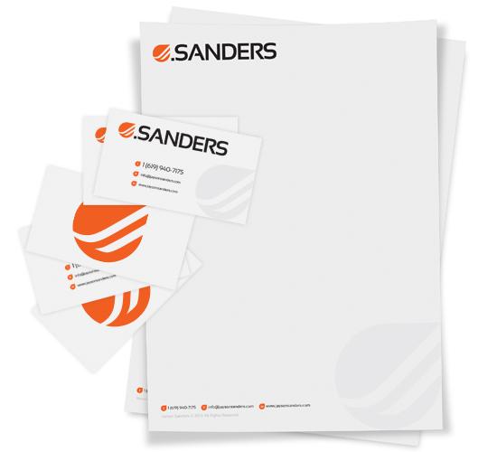 jsanders branding