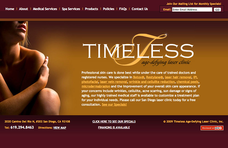 timeless laser clinic