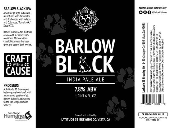Barlow Black IPA