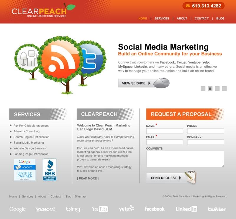 clear peach